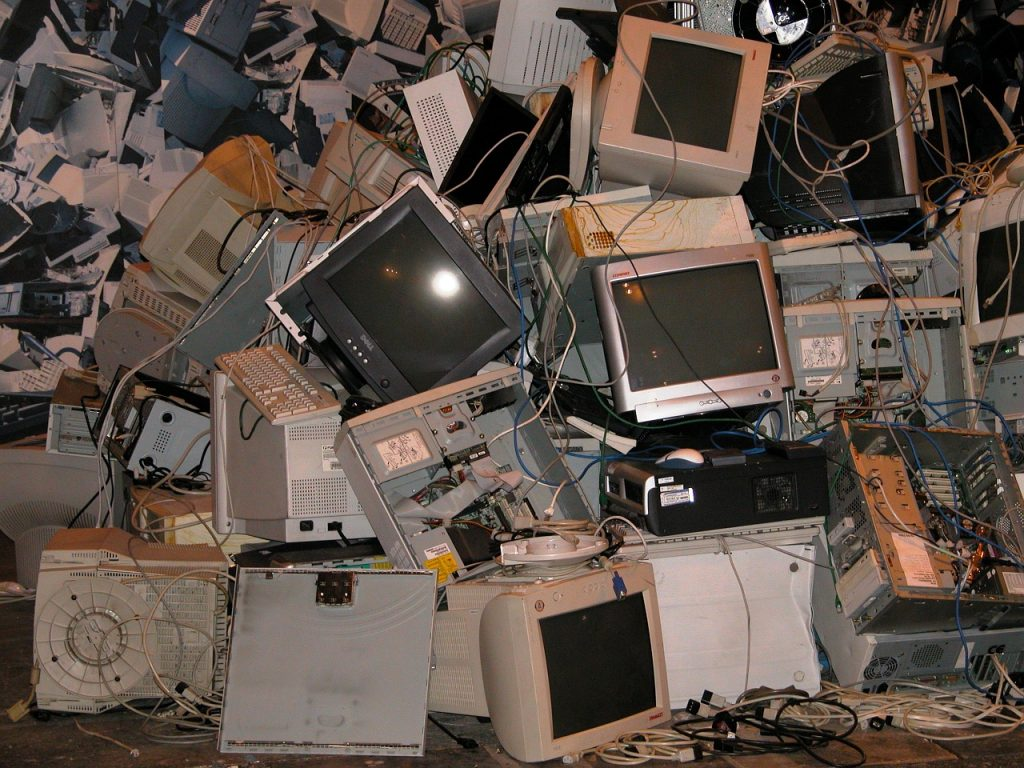 computers, gadgets, computer hardware, digital devices, scrap metal